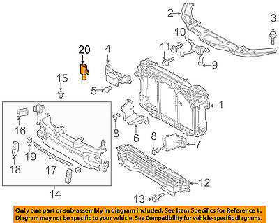 MAZDA OEM 06-14 3-Outside Air Ambient Temperature Sensor G51861764A