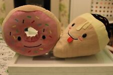 Sega Happy Snacks plush toys collectible doughnut icecream cute kawaii fast food