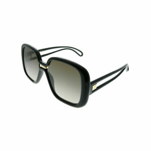e9aa0a23c4 Givenchy GV 7106/S 807 HA Black Plastic Square Sunglasses Brown ...