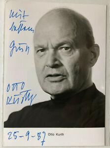 Otto-Kurth-Theater-Film-original-Autogramm-Groesse-15-x-10-cm