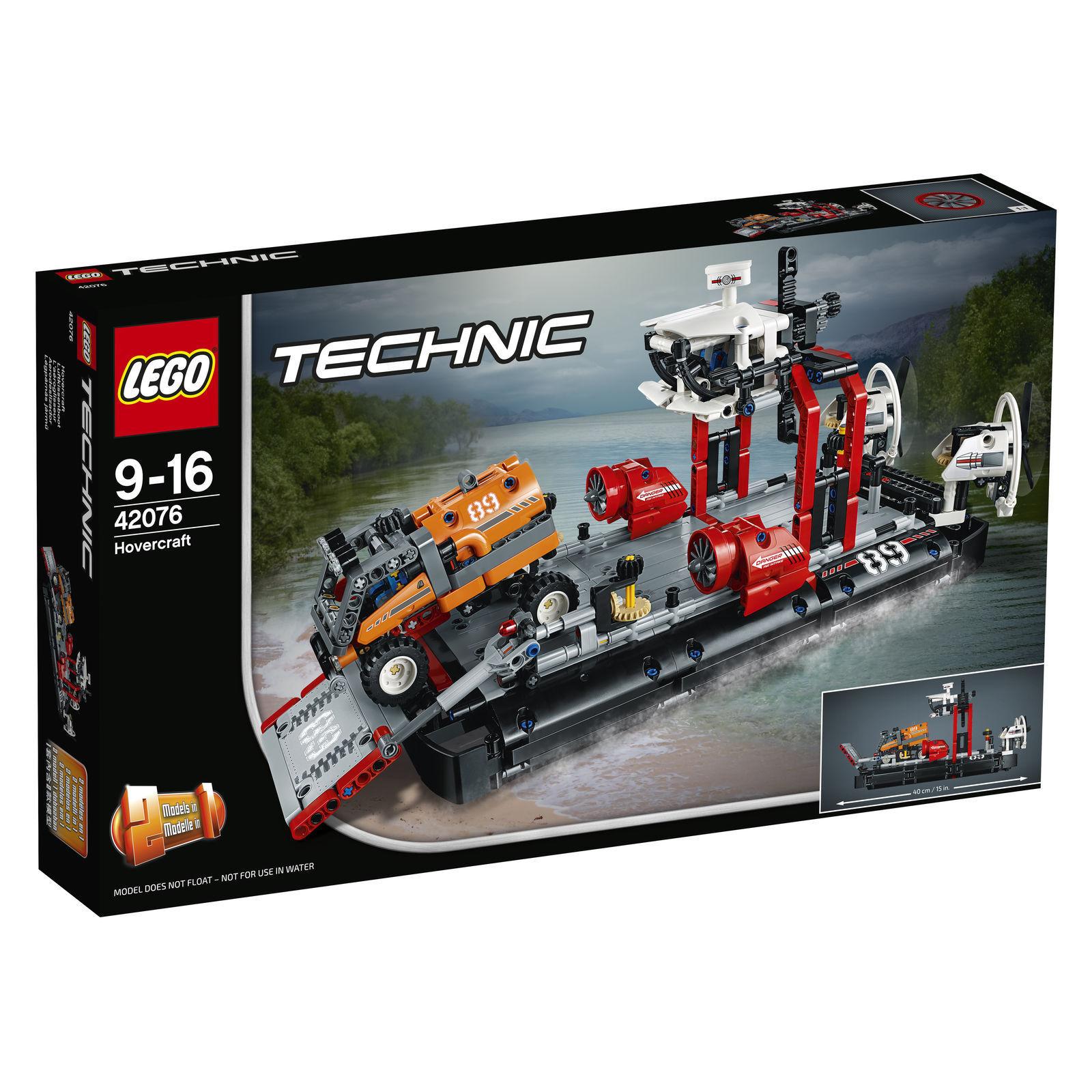 LEGO TECHNIC Aéroglisseur HOVERCRAFT () (42076)