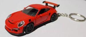 Majorette-porsche-911-GT3-RS-ALTO-DETALLE-DIECAST-CAR-Llavero