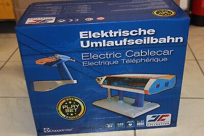 JÄgerndorfer Jc 84393 Unig-v Funivia 1:32 Circolazione Funivia Elettricamente Nuovo In Scatola Originale-mostra Il Titolo Originale