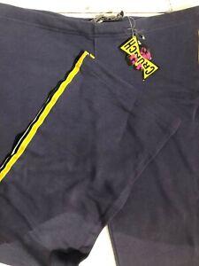 Hose Von Frau Anzug Crunch Farbe Lila Mit Streifen Seite Größe M