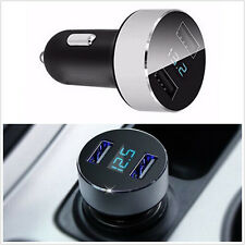 Car Charger 5V 3.1A Quick Charge Dual USB Port Cigarette Lighter Adapter Voltage