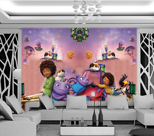 3D Animation Pattern 1201 Paper Wall Print Wall Decal Wall Deco Indoor Murals