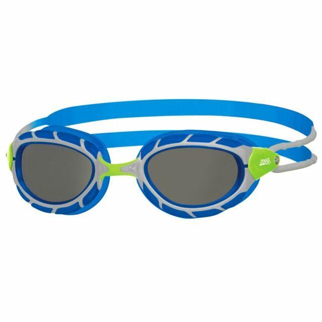 Zoggs Predator Junior Swimming Goggles 6 - 14 Years Blue & Green, Children's Swi