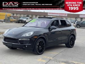2011 Porsche Cayenne S V8 NAVIGATION/REAR CAMERA/PANORAMIC SUNROOF