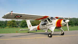 Details about PZL-104M Wilga 2000 Warszawa PZL-104 PZL Mahogany Airplane  Wood Model Large New