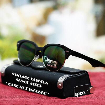 Vintage Fashion Round Classic Style Retro Sunglasses UV400 Shade Men's Women's