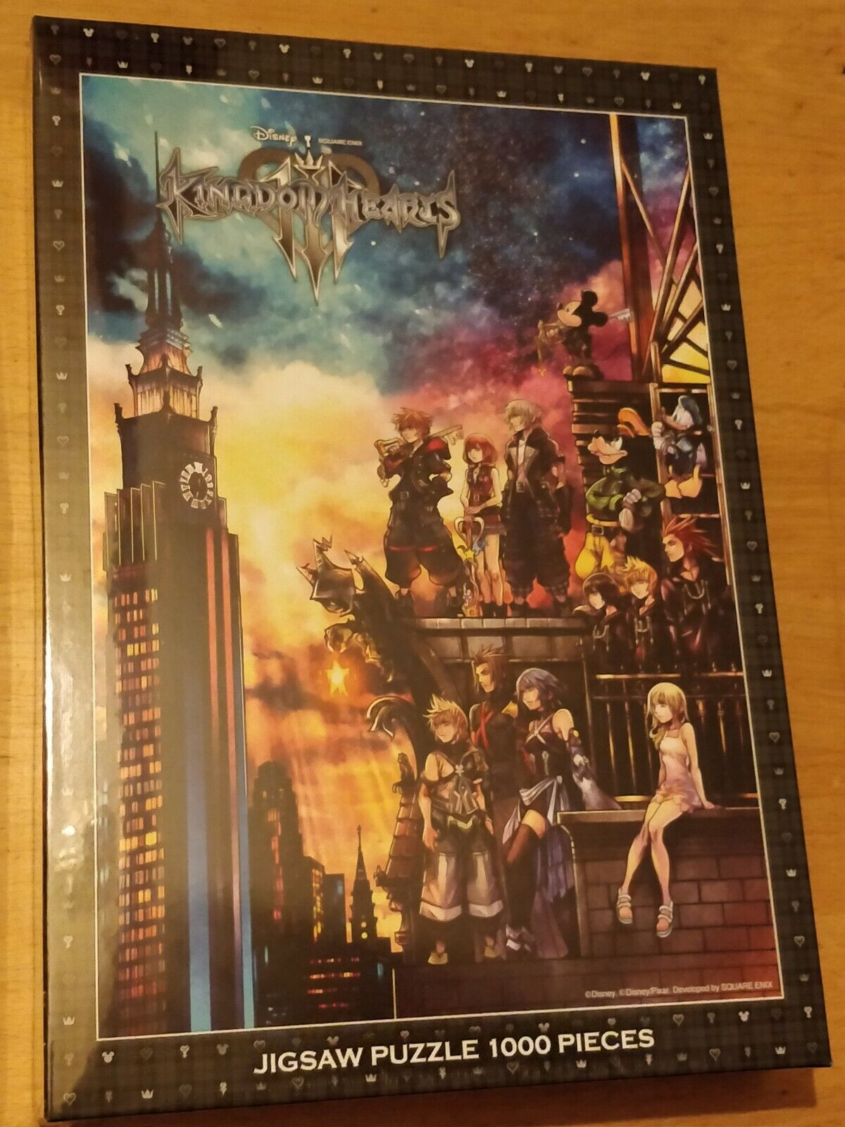 KINGDOM HEARTS III (3) 1000 PIECES JIGSAW PUZZLE - BRAND NEW & FACTORY SEALED