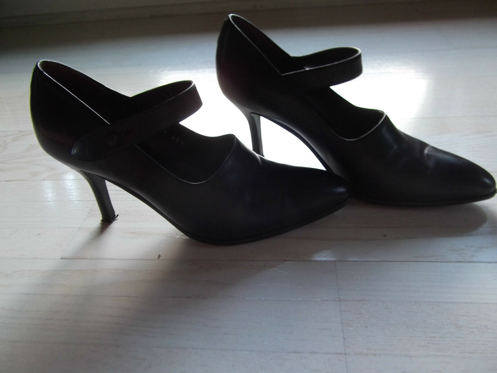 Elegante Stilettos, High Heels, Pumps, von JOOP , schwarz, Gr. 40,5, Handarbeit