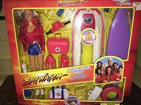Pamela Anderson C J Parker Fashion Doll Baywatch Lifeguard Training Beach Toys
