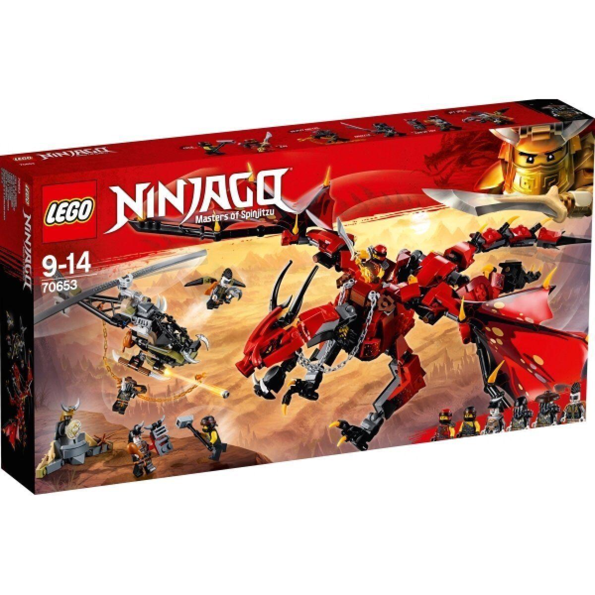 LEGO 70653 NINJAGO Mutter der Drachen NEU OVP
