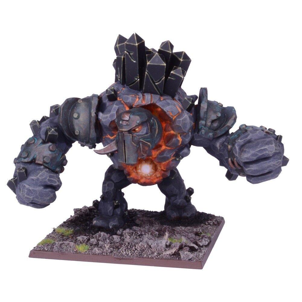1x Greater Obsidian Golem - Kings of War Abyssal Dwarfs