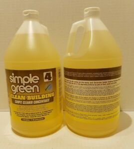 Image Is Loading Simple Green Clean Bldg Carpet Cleaner Concentrate 11201
