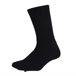 crew-socks-athletic-style-black-brown-white-green-rothco-USA-made-rothco-6439