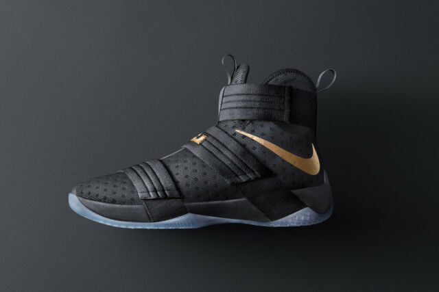 sports shoes a72d6 5c0d7 Nike Zoom Lebron Soldier 10 X iD Championship Pack Black