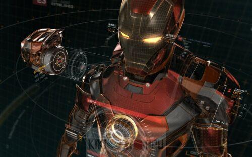 Poster A3 Iron Man Tony Stark Marvel Pelicula Film Cartel Decor Impresion 06