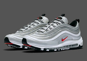 Image is loading NIKE-AIR-MAX-97-OG-QS-SILVER-BULLET-