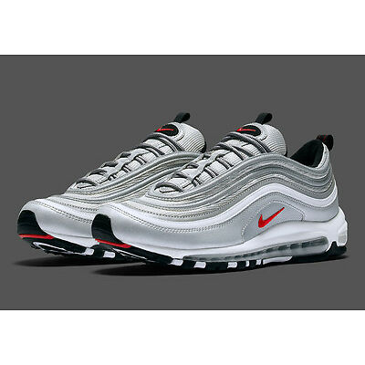 NIKE AIR MAX 97 OG QS SILVER BULLET MEN TRAINERS SOLD OUT SIZES