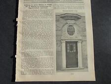 1912 Baugewerkszeitung  47/ Jena Thüringische Landesbank