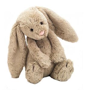 Jellycat Bashful Bunny - Beige - Medium - Plush Toy