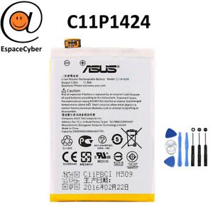 Batterie-Asus-C11P1424-ZENFONE-2-ZE550ML-ZE551ML-Z00AD-Z008D-4130-mAh