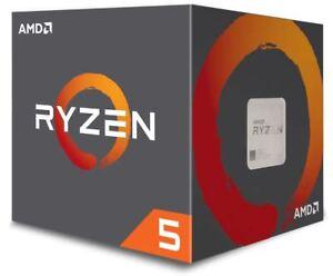 AMD Ryzen 5 2600 Processor 16 MB Cache 3.4 GHz AM4 6 Core 12 Thread Desktop CPU
