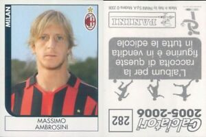 CALCIATORI-PANINI-2005-06-Figurina-sticker-N-282-NEW