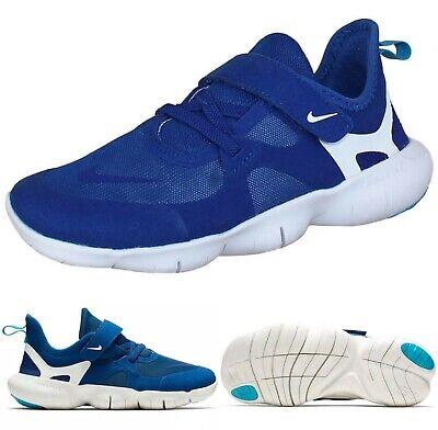 Kids Nike Free RN PSV NIKE Free RN 5.0 PSV Boys Sneakers Blue/White AR4144-401 SELECT ...