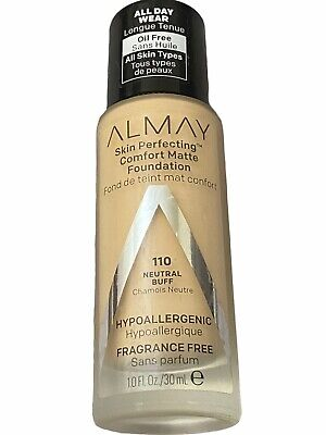 Almay Skin Perfecting Comfort Matte Foundation 140 Cool