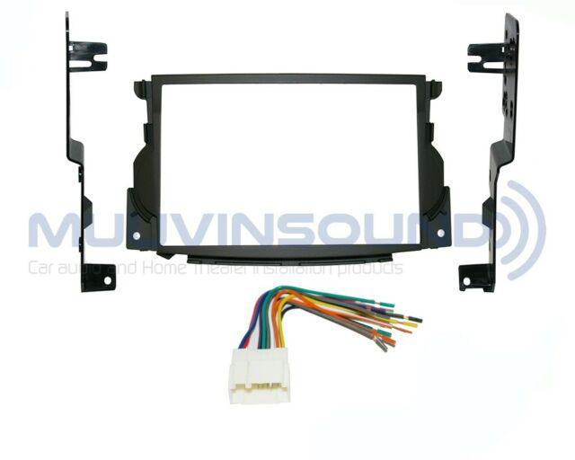 Radio Stereo Mounting Installation Dash Kit Combo 2din