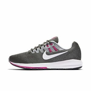 600f032a5e2ab NIKE WOMEN S AIR ZOOM STRUCTURE 20 SHOES SIZE 6.5 anthracite grey ...