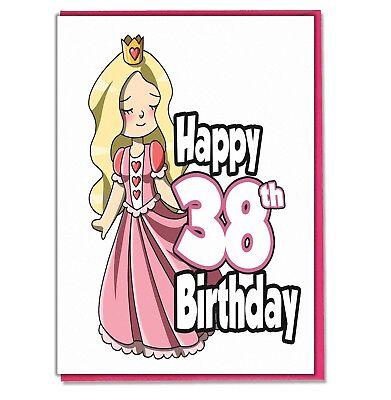 Daughter Grandaughter Friend Mum Wife Girlfriend Princess 50th Birthday Card
