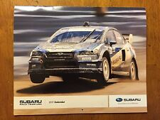 Subaru Rally Team USA '17 Calendar Travis Pastrana David Higgins Sverre Isachsen