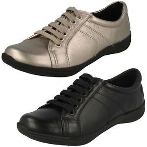 Etna K's Clarks Almizcle Zapatos Cuero Cordón By Mujer 1qzBYaz