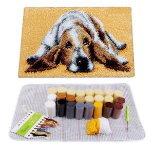 Latch Hook Rug Tool Kit Dog Carpet Mat