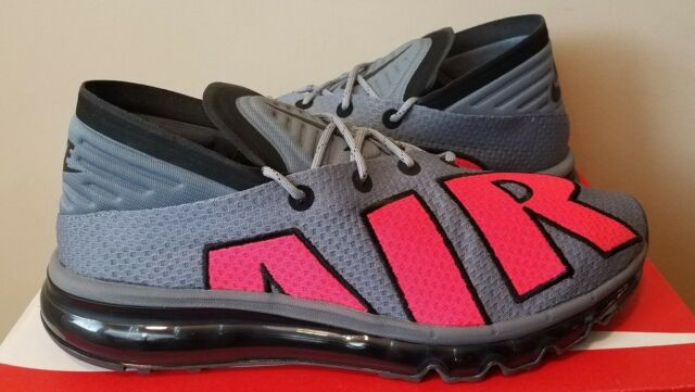 d037677bef Nike Air Max Flair NSW Cool Grey Solar Red Men Running Shoes SNEAKERS 942236 -004 10