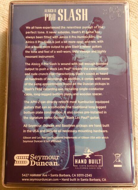Seymour Duncan Slash pickup set
