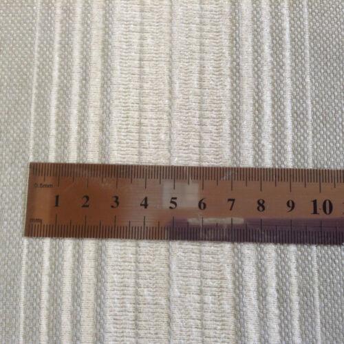 Warwick Dove Grey//White Stripe Supper Soft Curtain//Craft Fabric