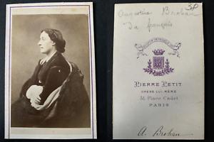 Pierre-Petit-Paris-Augustine-Brohan-actrice-Vintage-albumen-print-CDV