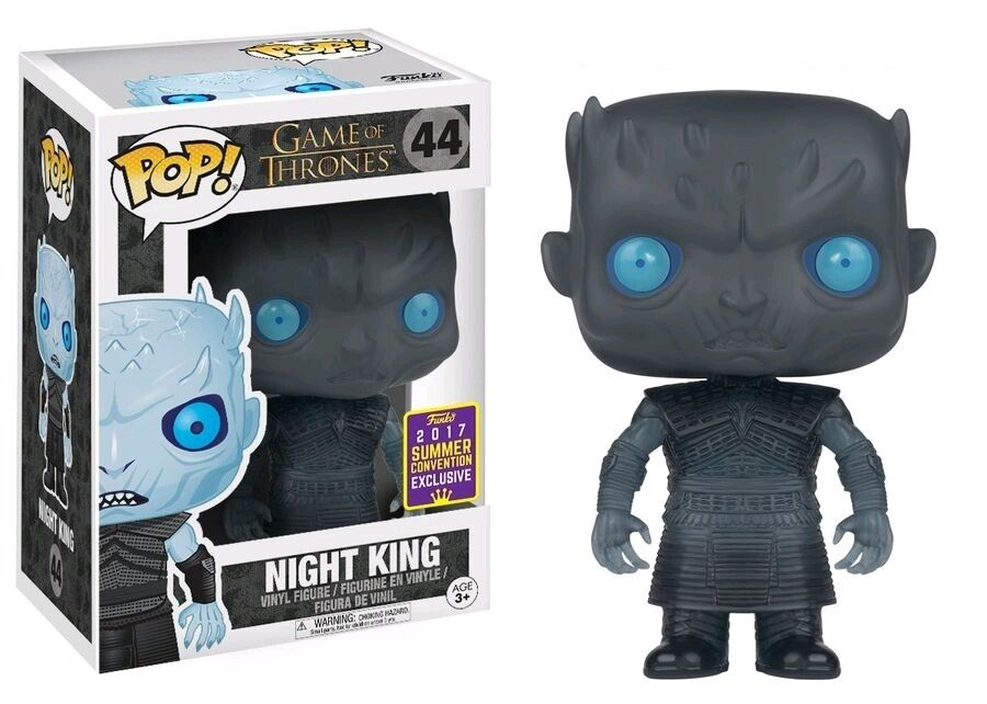 Funko Juego of Thrones - Night King Translucent Eyes SDCC 2017 Pop  Vinyl