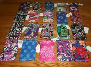 NWT-Vera-Bradley-SUNGLASS-SLEEVE-readers-case-eye-eyeglass-case-for-tote-purse