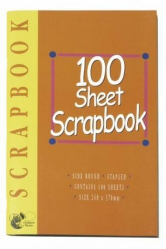 Scrapbook 240mm x 370mm 100 Sheets