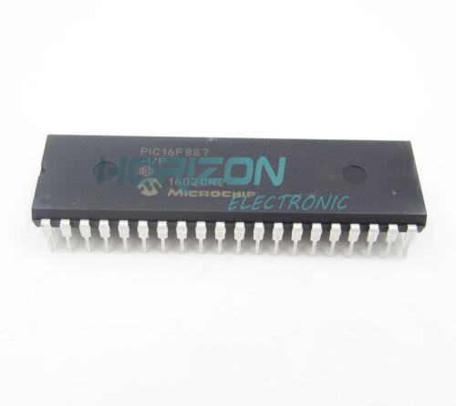 1PCS PIC16F887-I//P PIC16F887 MICROCHIP DIP-40 IC NEW