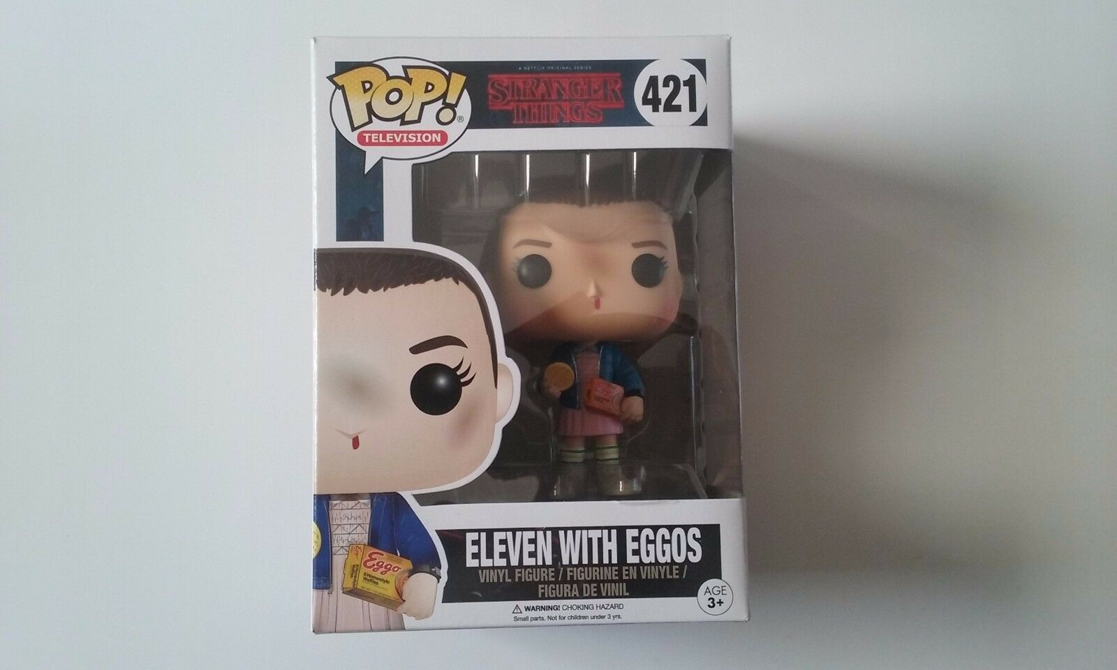 Funko, pop, stranger things, eleven, with eggos, 421, new