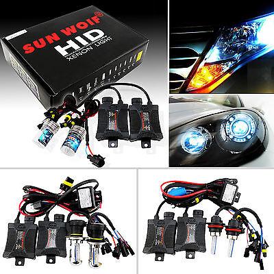 HID Bi-Xenon Headlight Conversion KIT Bulbs&Ballasts H1/H3/H4-3/H7/H11/9005 9006