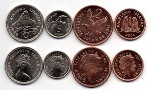 Falkland Islands Set of 5 Coins  UNC