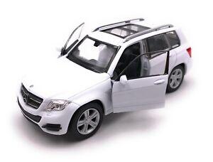 Model-Car-Mercedes-Benz-GLK-SUV-White-Car-Scale-1-3-4-39-Licensed